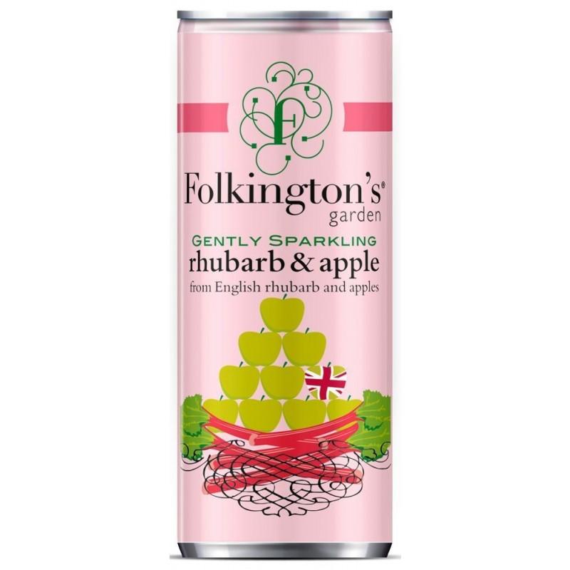 Folkingtons, Rhubarb and Apple, Drinksmix 25 cl.