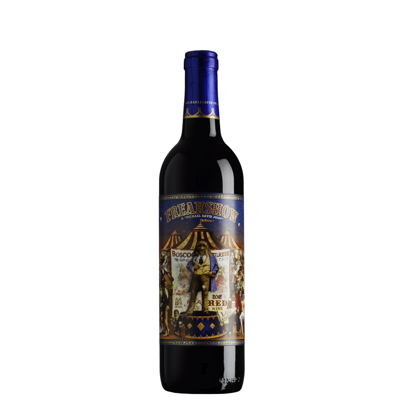 Freakshow Red Blend 2015, Michael and David Winery