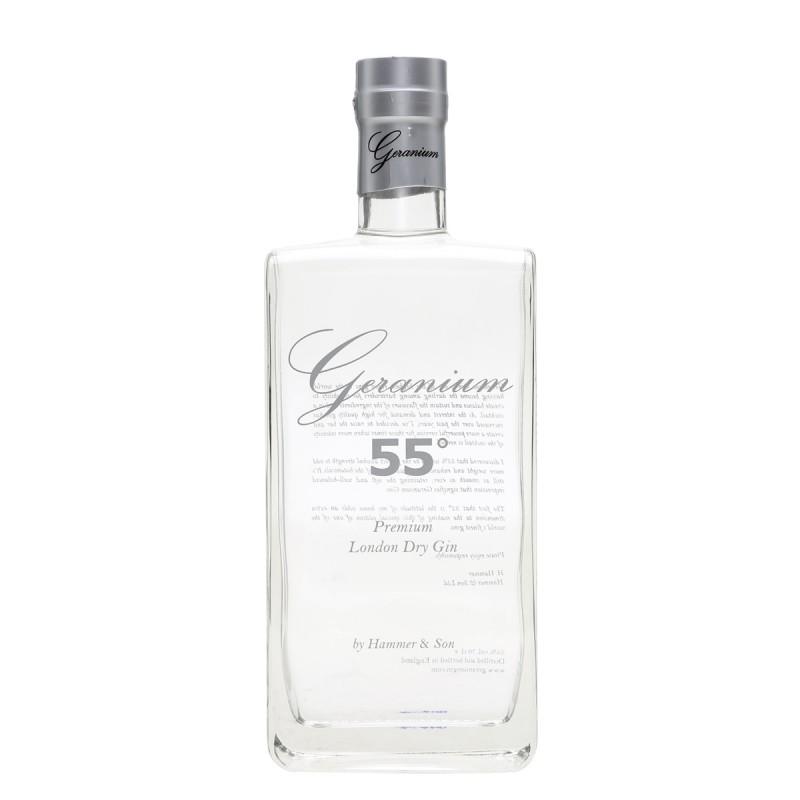 Geranium Gin, 55 %, London Dry Gin
