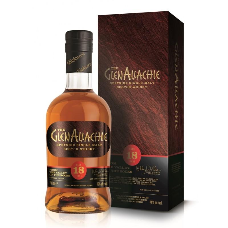 The GlenAllachie 18 års, Speyside Single Malt Whisky