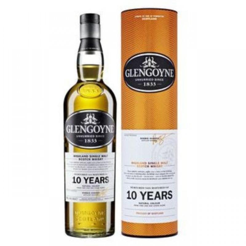 Glengoyne, 10 års, Single Malt whisky