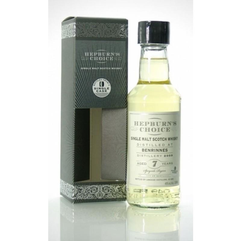 Hepburn´s Choice, Benrinnes 2009, 7 års, Single Malt Whisky 20 cl.