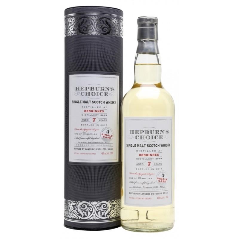 Hepburn´s Choice, Benrinnes 2010, 7 års, Single Malt Whisky