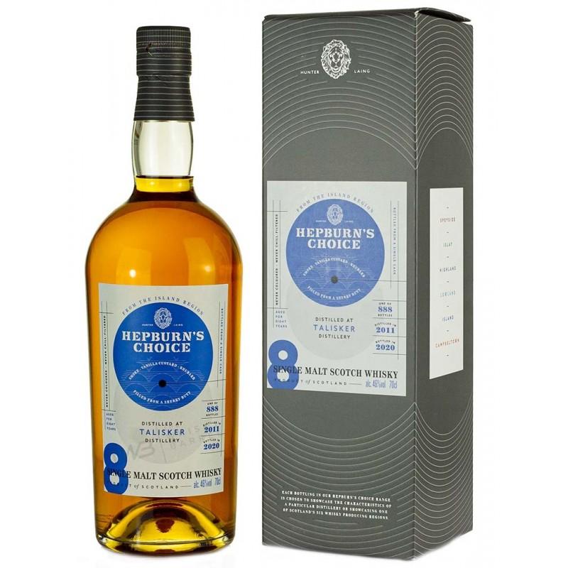Hepburn´s Choice, Talisker, Single Malt whisky, 8 års