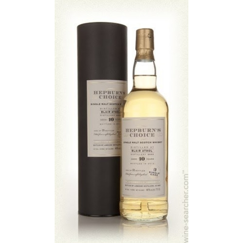 Hepburns Choice, Blair Athol 10 års, Single Malt Whisky