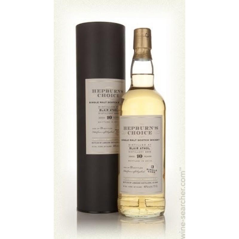 Hepburns Choice, Blair Athol 10 års, Single Malt Whisky
