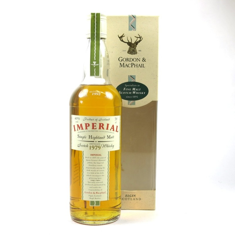 Imperial 18 års, Gordon & Macphail, Vintage 1979