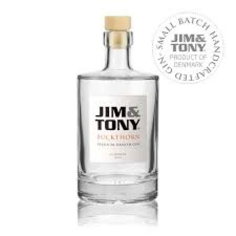 Jim and Tony, Buckthorn Premium Danish Gin