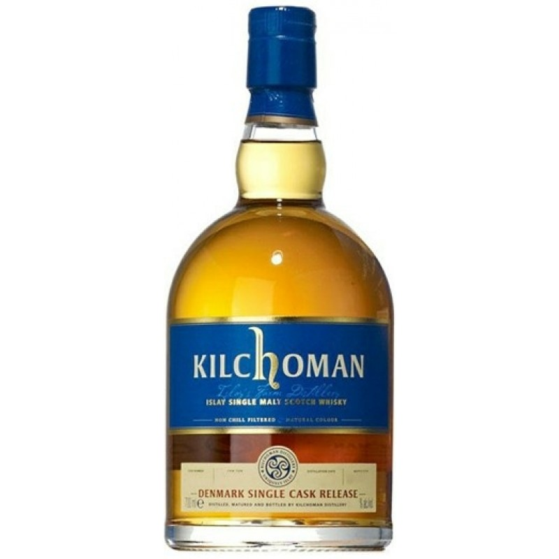 Kilchoman Denmark Cask 1, Single Malt, 62,4%-36