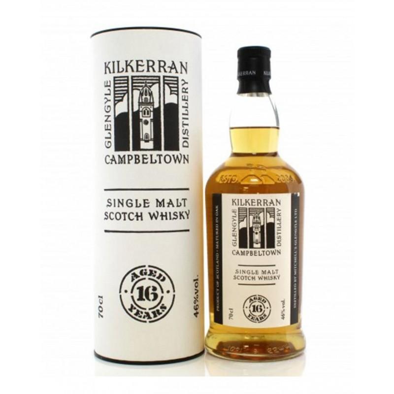 Kilkerran, Glengyle, 16 års, Single Malt Whisky,