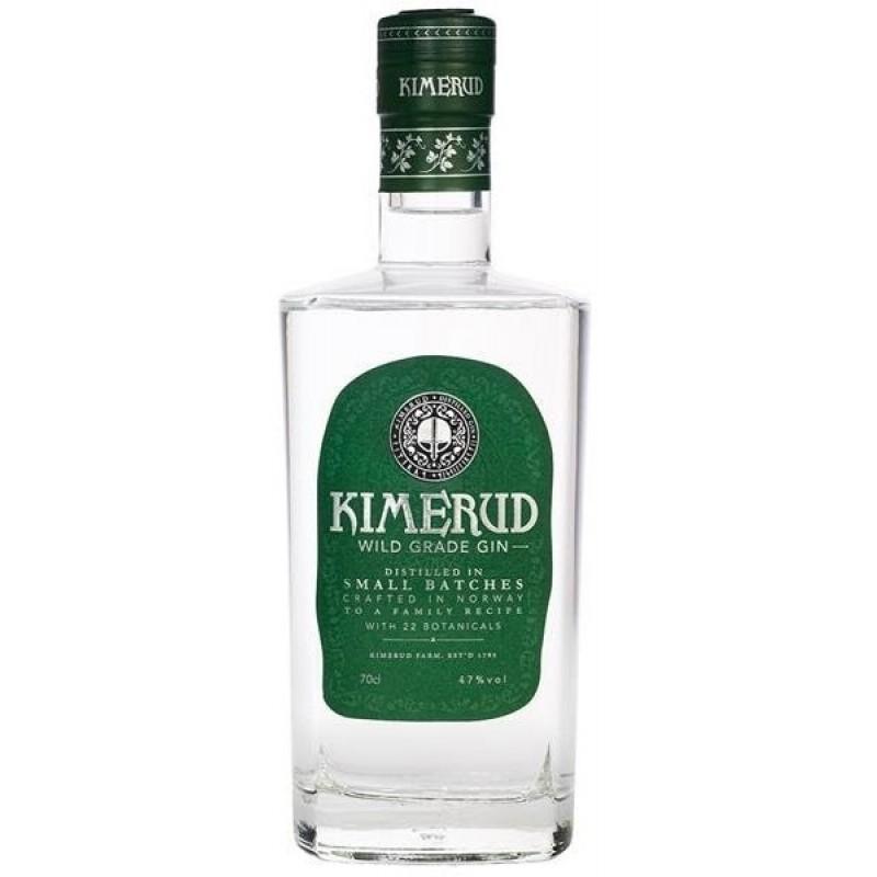 Kimerud Wild Grade Gin i gavekasse med 2 Tonic