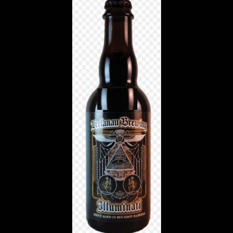 Leelanau Brewing, Illuminati, Bourbon aged Stout