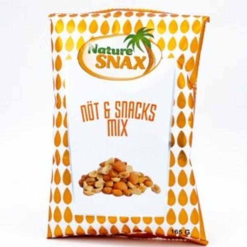 Nødde og snacksmix