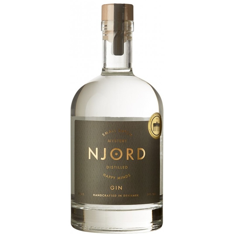 Njord Mystery Gin, Distilled Happy Minds, Small Batch