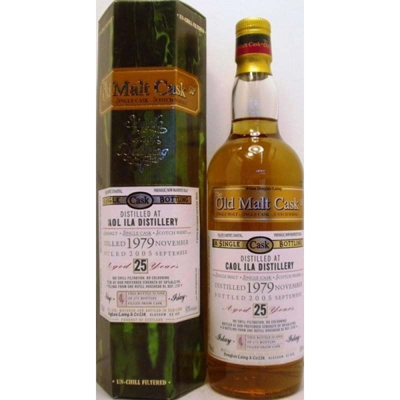 Old Malt Cask 25 års, Caol Ila, Single Malt Whisky-36