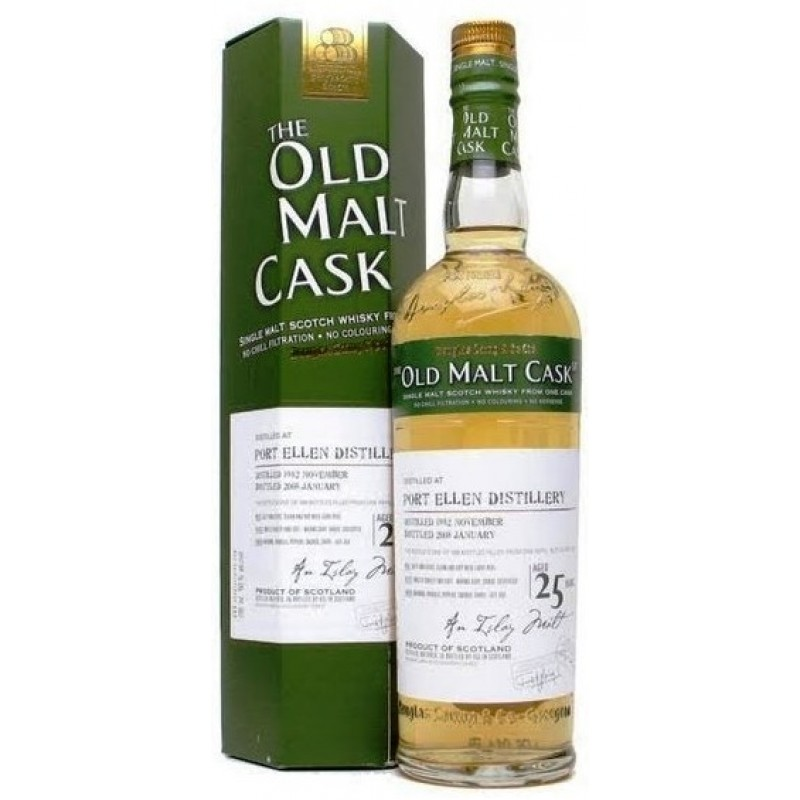 Port Ellen, 1982, The Old Malt Cask, 25 års, Single Malt Whisky