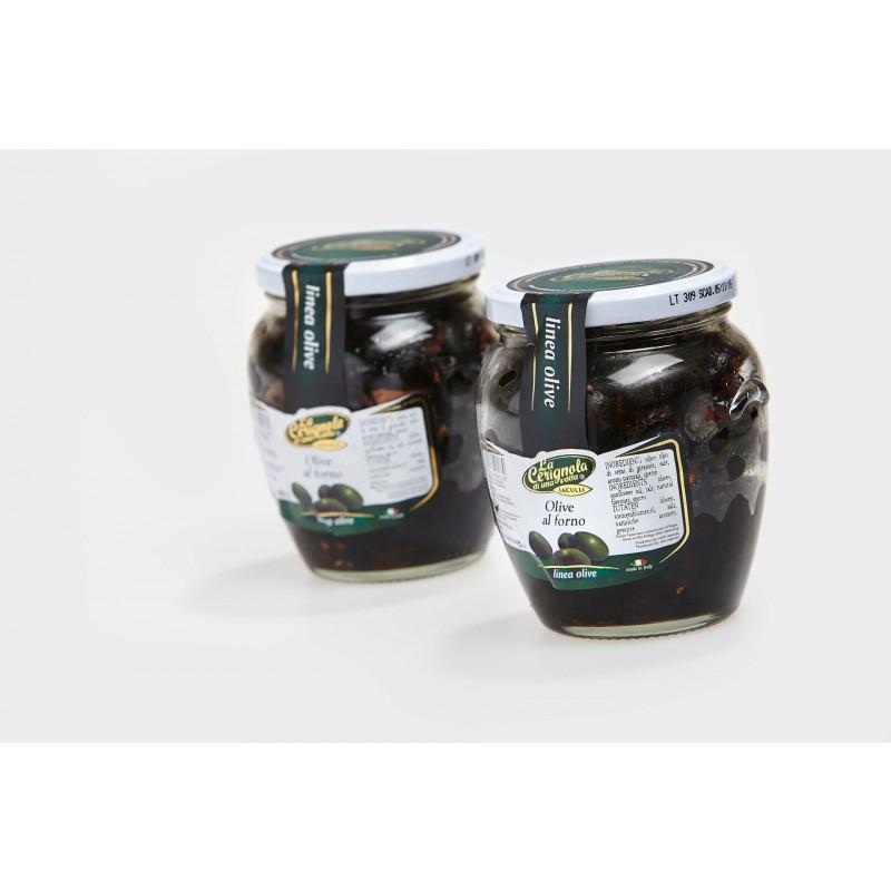 Sorte oliven, ovnbagte,