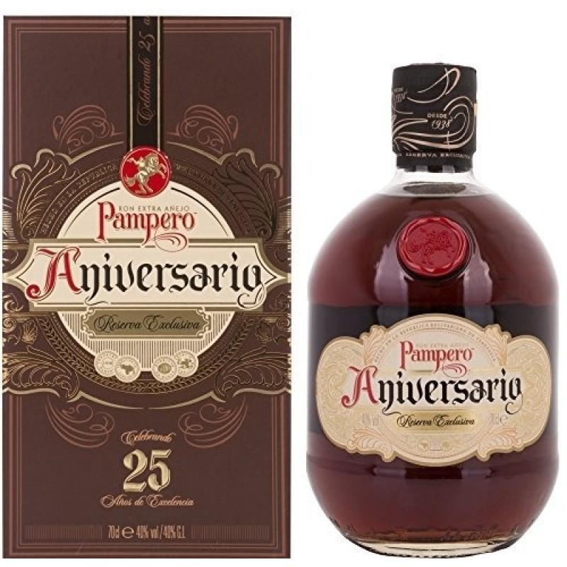 Pampero, Rum Anniversario, i gaveæske
