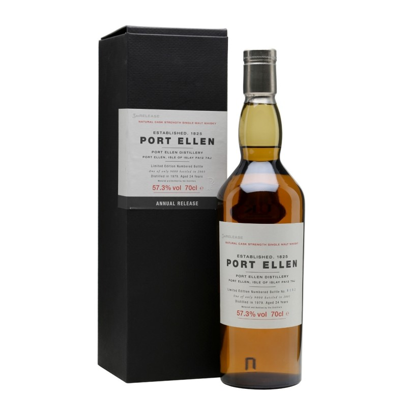 Port Ellen 1979, 3th Release, 24 års Single Malt Whisky-39