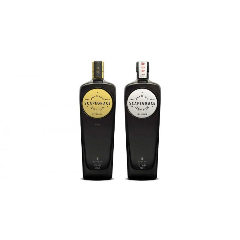 Scapegrace SILVER, Premium Dry Gin, 42,2%