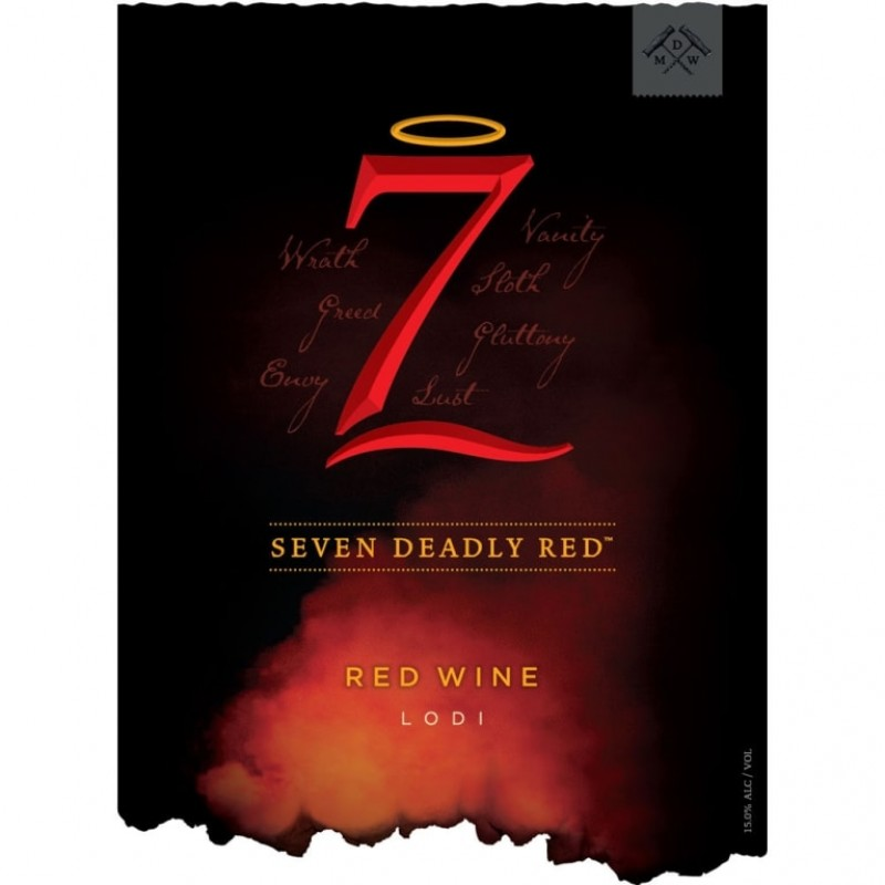 Seven Deadly Red, Michael David 2017-38