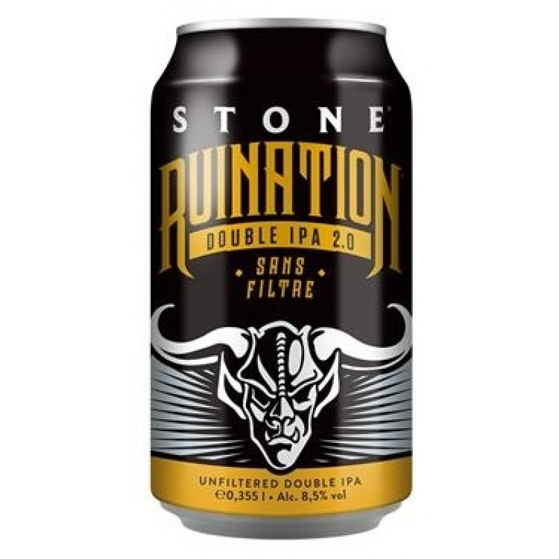 Stone Brewing, Stone Ruination Double IPA 2.0