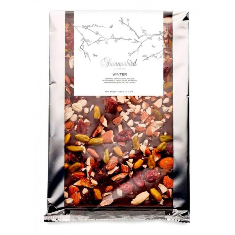 Summerbird, Winter Chokoladebar 220 gram.
