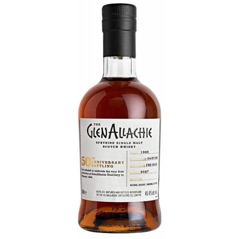 The GlenAllachie 50th Anniversary Single Casks, Vintage 1989