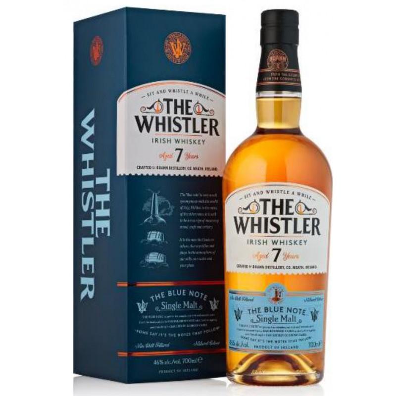 The Whistler, The Blue Note 7 Years Old, Single Malt Irish Whiskey
