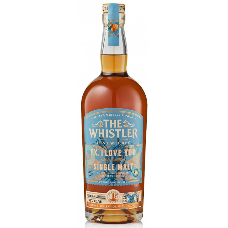 The Whistler, PX I Love You, Single Malt Irish Whiskey - 46% (Sherry Cask Finish)