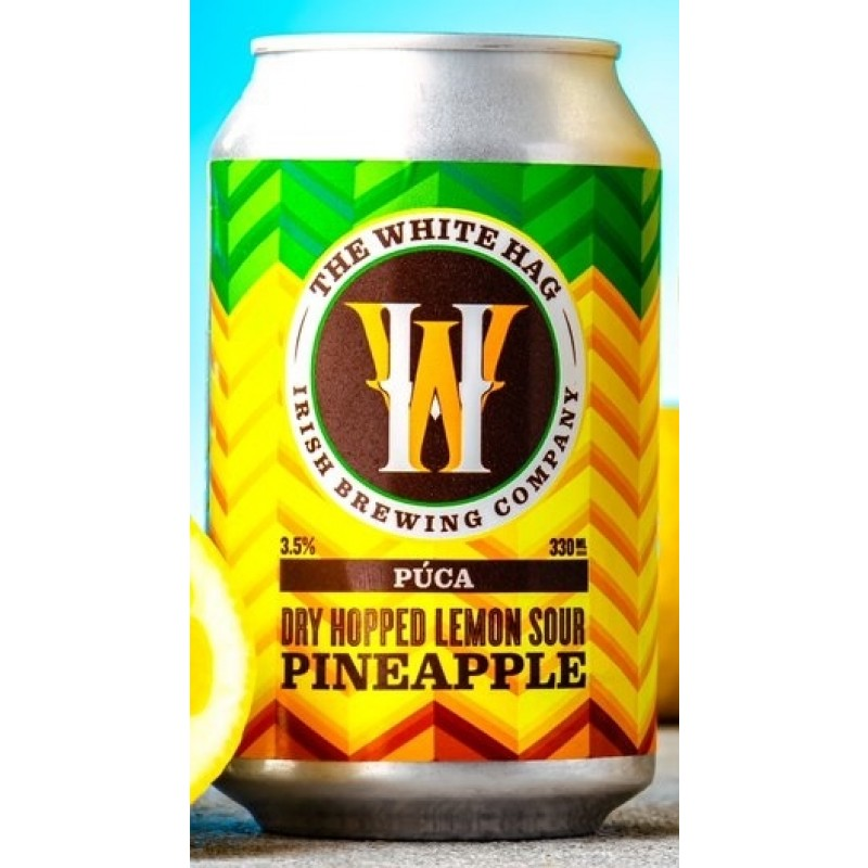The White Hag Irish Brewing Company, Púca Pineapple Dry Hopped Lemon Sour
