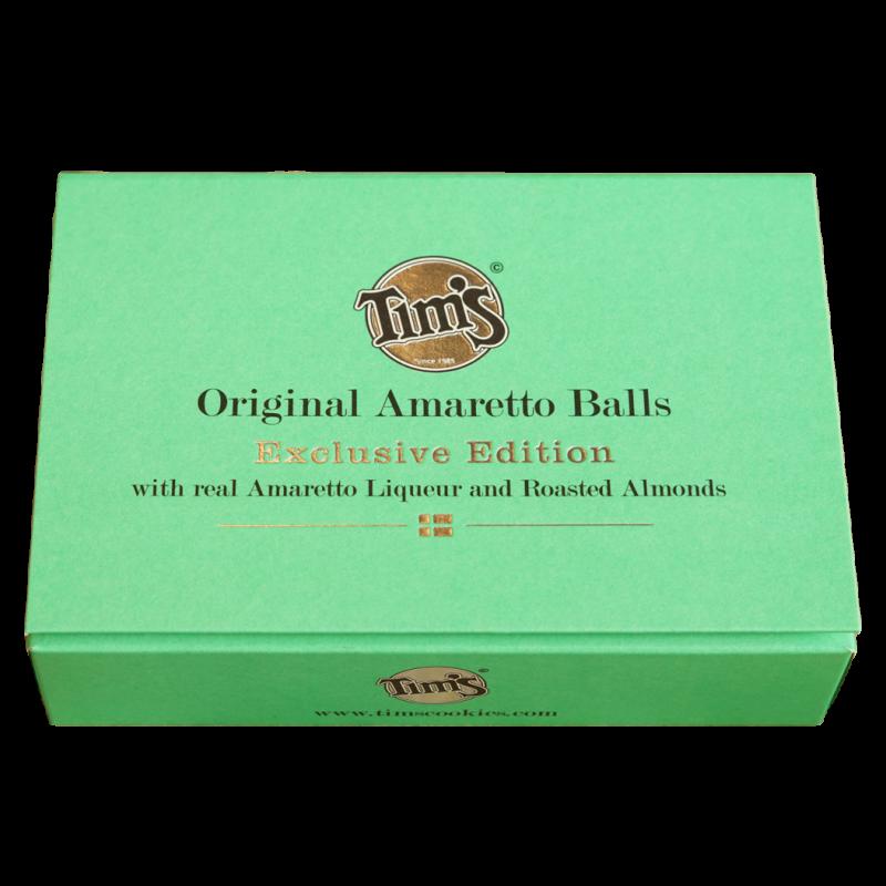 TIMs, Rumkugler, Original Amaretto Balls