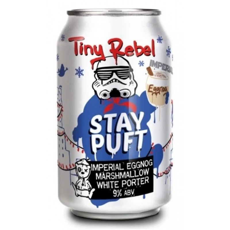 Tiny Rebel Brewing Co, Stay Puft Imperial Eggnog Marshmallow White Porter