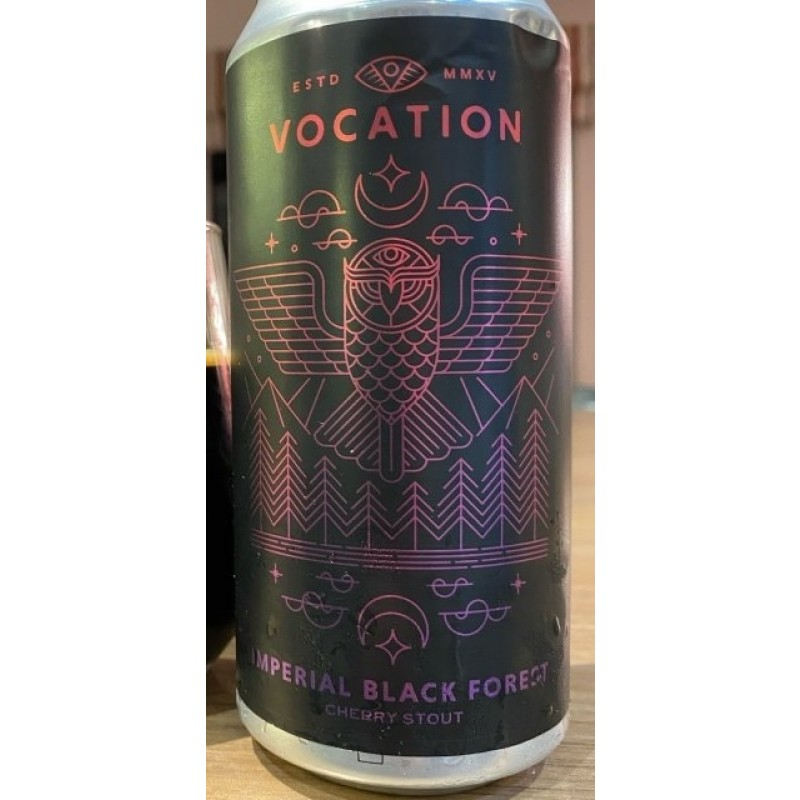 Vocation Brewery, Imperial Black Forest Cherry Stout