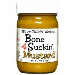 Bone Suckin Mustard - Sennep m/ Jalapenos