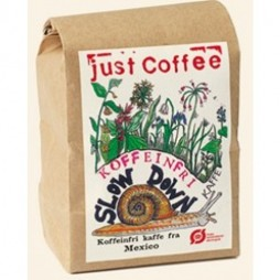 Just Coffee, Slowdown koffeinfri 250g ØKO-20