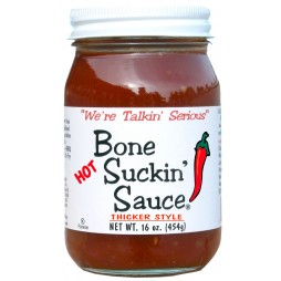 Bone Suckin Sauce Hot, Thicker Style