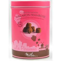 Mathez Chokoladetrøfler, Macaron Framboise-20