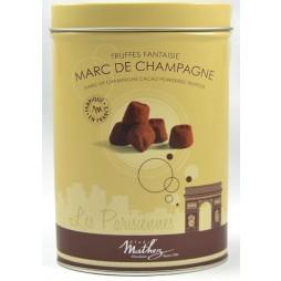 Mathez Chokoladetrøfler, Marc de Champagne-20