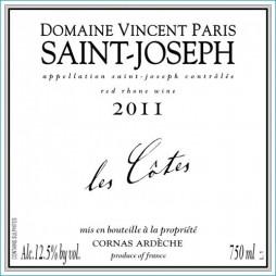 Domaine Vincent Paris, Saint Joseph, Les Côtes 2015-20