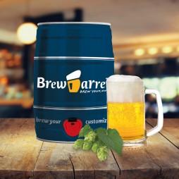 BrewBarrel, Bryg dit eget øl - Lager