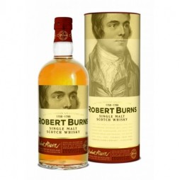 Arran, Robert Burns, Single Malt Whisky med et tasting glas