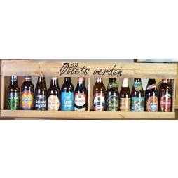 Øllets Verden, 12 fl. øl i flot trækasse