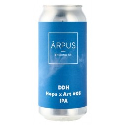 Arpus Brewing Co., DDH Hops x Art #03 IPA