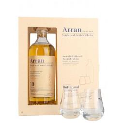 Arran Malt, 10 års Single Malt whisky, Gaveæske