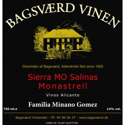 Bagsværd Vinen, Monastrell, Alicante