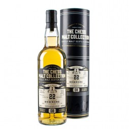 The Chess Malt Collection, Bowmore 22 års, Single Islay Malt Whisky Black Queen D8-20