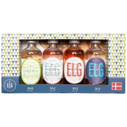 Elg Gin, Gaveæske m. ELG Gin No. 0, 1, 2 & 3