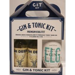 Elg Gin No. 1, Danish Premium Gin, Gaveæske