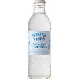 Franklin & Sons, Natural Light Tonic Water, 20 cl.